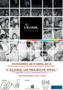 Cartell L'Eliana, un trajecte vital CEL-  PRESENTACIO Text