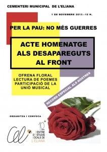 ACTE A LA PAU- Nov - 13
