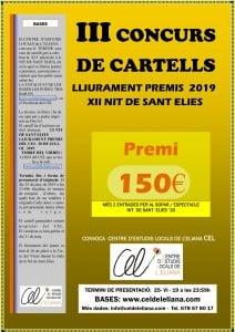 III Cartell concurs S Elies