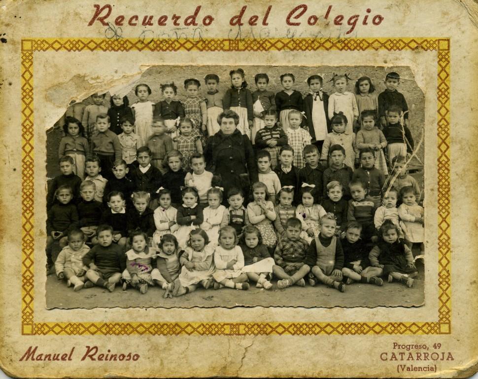 ESCOLA-DE-XIQUET-I-XIQUETES-1950-DONYA-MARGARITA